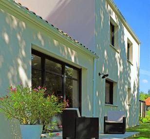 Maison traditionnelle construite à Bouguenais