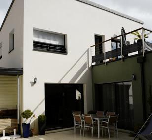 Maison de ville construite à Saint-Nazaire