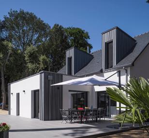 Villa balnéaire 5 chambres construite à Pornichet