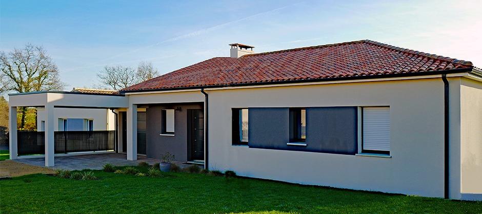 Maison de plain-pied construite à Sainte-Pazanne
