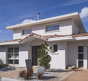 Maison construite à Saint-Sébastien-sur-Loire