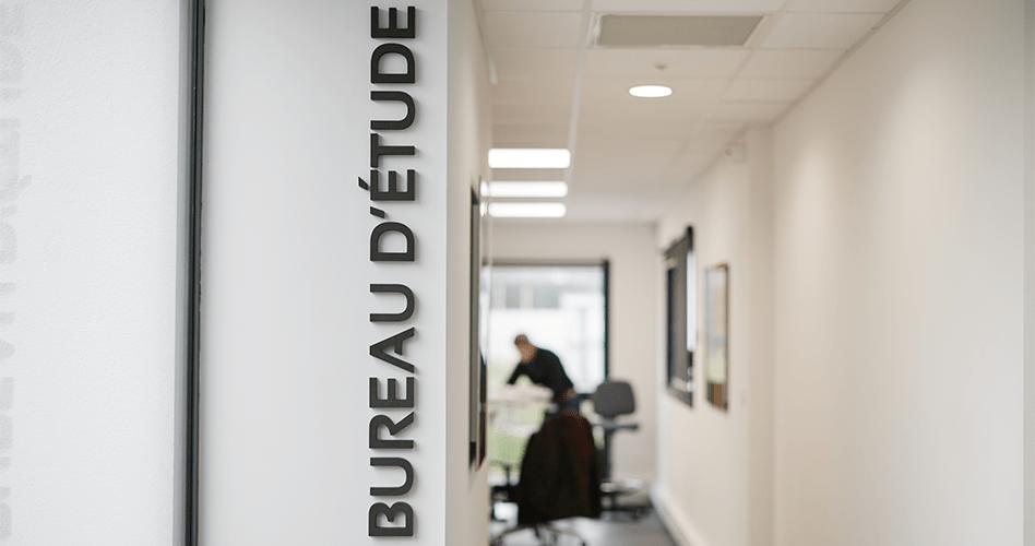 Bureau d'études Berthelot Constructions au siège à Couëron (44)