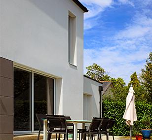 Maison traditionnelle construite à Thouaré-sur-Loire