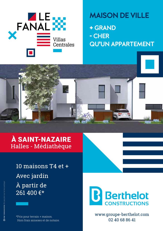Terrain et Maison à construire – Saint-Nazaire