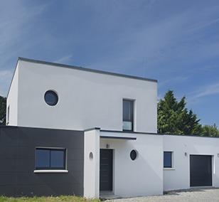 Maison Berthelot Constructions construite à Mauves sur Loire (44)