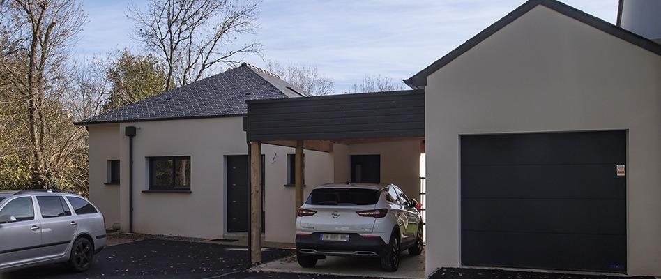 Maison construite à Thouaré-sur-Loire