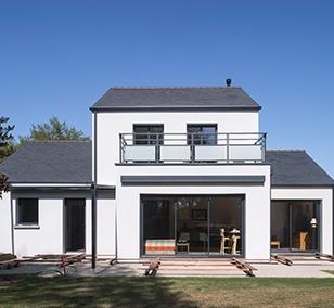 Maison à étage construite à Treillières