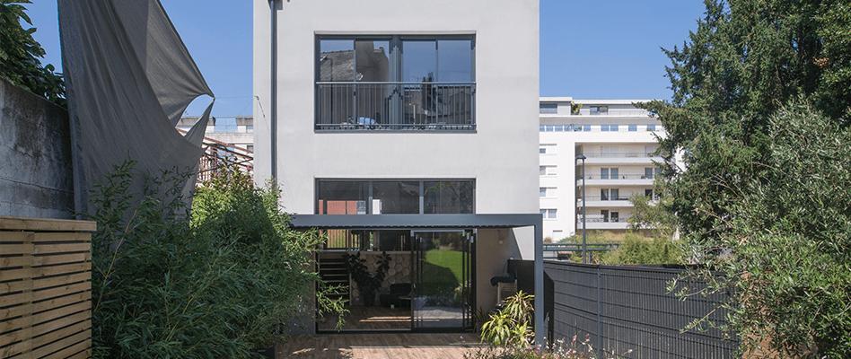 Maison de ville construite à Nantes (44) par Berthelot Constructions