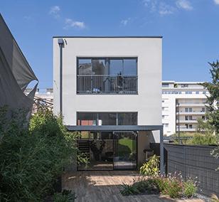 Maison de ville construite à Nantes
