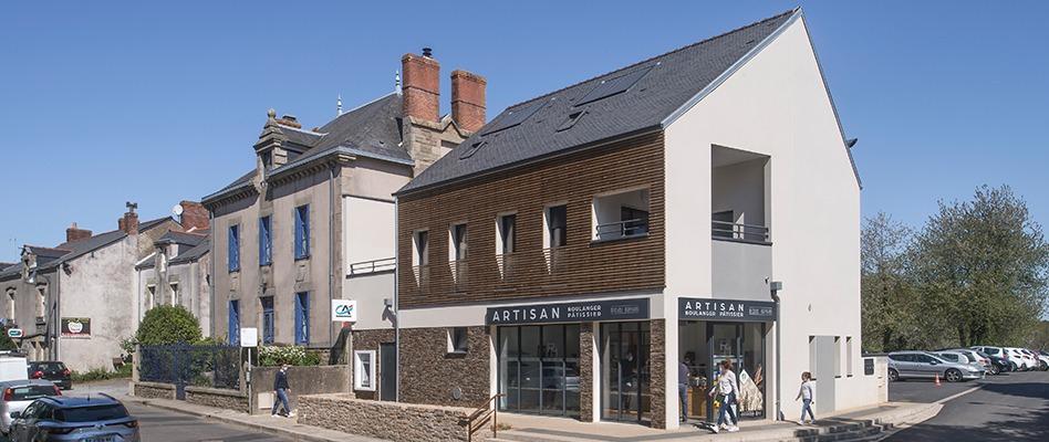 Opération de renouvellement urbain à Vigneux-de-Bretagne (44) par BERDES